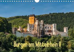 Burgen am Mittelrhein II (Wandkalender 2020 DIN A4 quer) von Hess,  Erhard