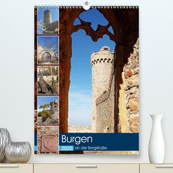 Burgen an der Bergstraße (Premium, hochwertiger DIN A2 Wandkalender 2020, Kunstdruck in Hochglanz) von Andersen,  Ilona