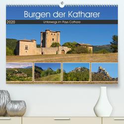Burgen der Katharer – Unterwegs im Pays Cathare (Premium, hochwertiger DIN A2 Wandkalender 2020, Kunstdruck in Hochglanz) von LianeM