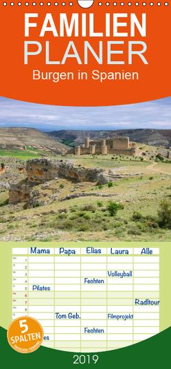 Burgen in Spanien – Familienplaner hoch (Wandkalender 2019 , 21 cm x 45 cm, hoch) von LianeM