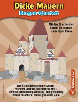 Burgen Quartettspiel von Ronald,  Gohl