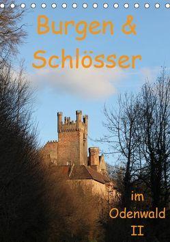 Burgen & Schlösser im Odenwald II (Tischkalender 2019 DIN A5 hoch) von Kropp,  Gert