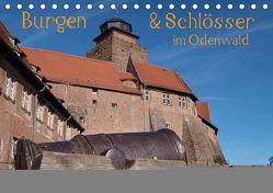 Burgen & Schlösser im Odenwald (Tischkalender 2019 DIN A5 quer) von Kropp,  Gert