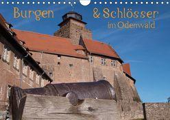 Burgen & Schlösser im Odenwald (Wandkalender 2019 DIN A4 quer) von Kropp,  Gert