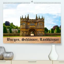 Burgen, Schlösser, Landhäuser (Premium, hochwertiger DIN A2 Wandkalender 2021, Kunstdruck in Hochglanz) von Wernicke-Marfo,  Gabriela