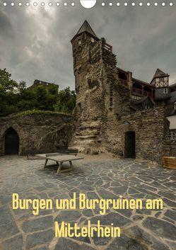 Burgen und Burgruinen am Mittelrhein (Wandkalender 2020 DIN A4 hoch) von Hess,  Erhard