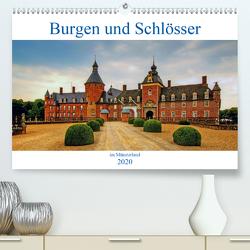 Burgen und Schlösser im Münsterland (Premium, hochwertiger DIN A2 Wandkalender 2020, Kunstdruck in Hochglanz) von Michalzik,  Paul