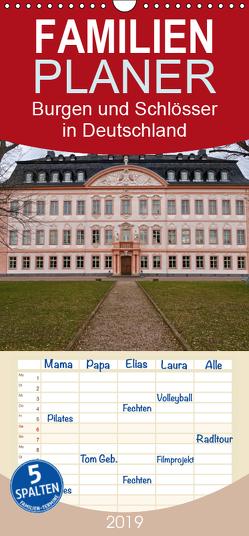 Burgen und Schlösser in Deutschland – Familienplaner hoch (Wandkalender 2019 , 21 cm x 45 cm, hoch) von Flori0