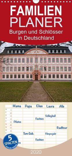 Burgen und Schlösser in Deutschland – Familienplaner hoch (Wandkalender 2020 , 21 cm x 45 cm, hoch) von Flori0