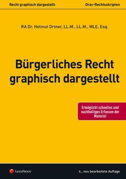 Bürgerliches Recht – graphisch dargestellt von Ortner,  Helmut