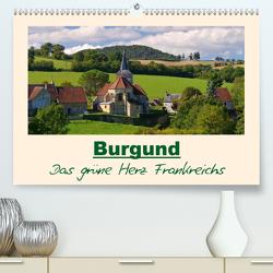 Burgund – Das grüne Herz Frankreichs (Premium, hochwertiger DIN A2 Wandkalender 2020, Kunstdruck in Hochglanz) von LianeM