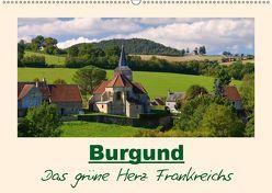 Burgund – Das grüne Herz Frankreichs (Wandkalender 2019 DIN A2 quer) von LianeM