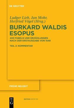 Burkard Waldis: Esopus von Lieb,  Ludger, Mohr,  Jan, Vögel,  Herfried