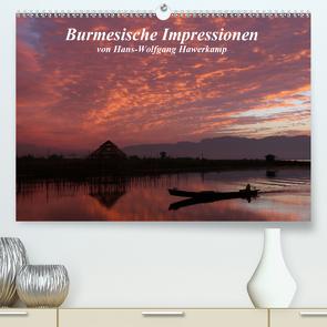 Burmesische Impressionen (Premium, hochwertiger DIN A2 Wandkalender 2020, Kunstdruck in Hochglanz) von Hawerkamp,  Hans-Wolfgang