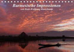 Burmesische Impressionen (Tischkalender 2018 DIN A5 quer) von Hawerkamp,  Hans-Wolfgang