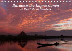 Burmesische Impressionen (Tischkalender 2020 DIN A5 quer) von Hawerkamp,  Hans-Wolfgang