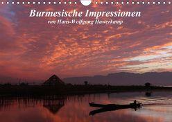 Burmesische Impressionen (Wandkalender 2018 DIN A4 quer) von Hawerkamp,  Hans-Wolfgang