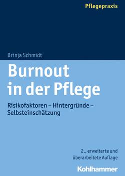 Burnout in der Pflege von Schmidt,  Brinja