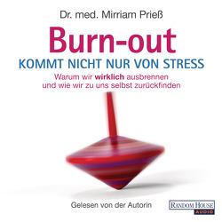 Burnout kommt nicht nur von Stress von Prieß,  Mirriam