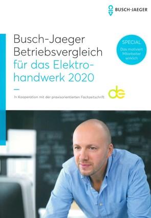 Busch-Jaeger Betriebsvergleich für das Elektrohandwerk 2020