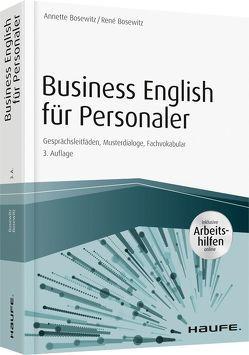 Business English für Personaler – inkl. Arbeitshilfen online & Zugang Sprachportal von Bosewitz,  Annette, Bosewitz,  René
