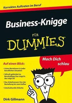 Business-Knigge für Dummies von Gillmann,  Dirk