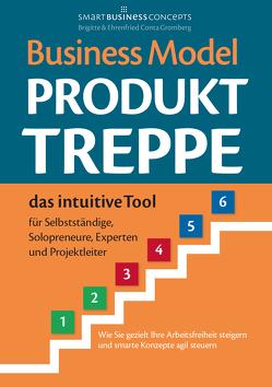 Business Model Produkt-Treppe von Conta Gromberg,  Brigitte, Conta Gromberg,  Ehrenfried