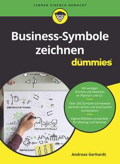 Business-Symbole zeichnen für Dummies von Gerhardt,  Andreas