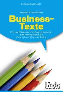 Business-Texte von Borgmann,  Gabriele