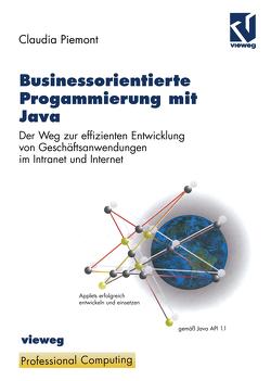 Businessorientierte Programmierung mit Java von Piemont,  Claudia, Ramm,  Frederik