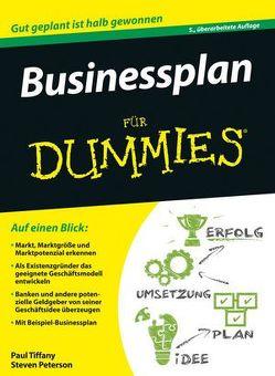 Businessplan für Dummies von Peterson,  Steven D., Tiffany,  Paul