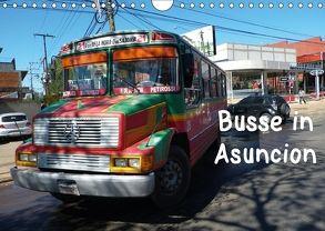 Busse in Asuncion (Wandkalender 2018 DIN A4 quer) von Kristin von Montfort,  Gräfin