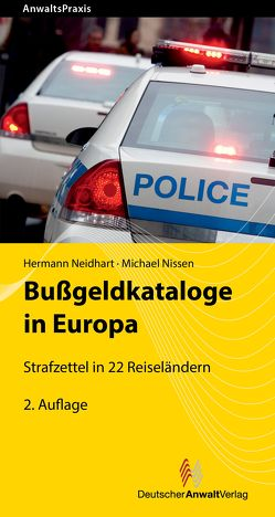 Bußgeldkataloge in Europa von Neidhart,  Hermann, Nissen,  Michael