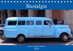 Bustalgie – Omnibus Oldtimer auf Kuba (Tischkalender 2020 DIN A5 quer) von von Loewis of Menar,  Henning