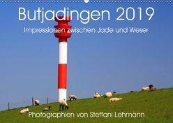 Butjadingen 2019. Impressionen zwischen Jade und Weser (Wandkalender 2019 DIN A2 quer) von Lehmann,  Steffani