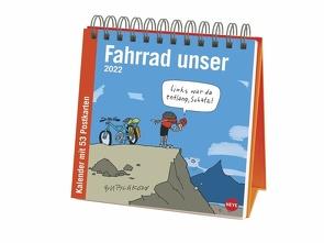 Butschkow: Fahrrad unser Premium-Postkartenkalender 2022 von Butschkow,  Peter, Heye