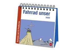 Butschkow Fahrrad unser Premium-Postkartenkalender Kalender 2020 von Butschkow,  Peter, Heye