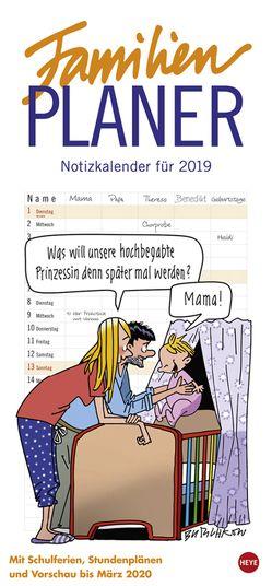 Butschkow Familienplaner – Kalender 2019 von Butschkow,  Peter, Heye