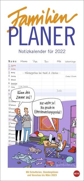 Butschkow: Familienplaner Kalender 2022 von Butschkow,  Peter, Heye