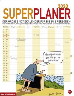 Butschkow Superplaner Kalender 2020 von Butschkow,  Peter, Heye