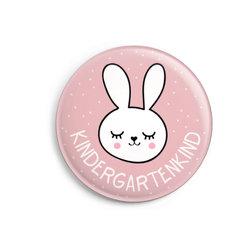 Button: Kindergartenkind für Mädchen