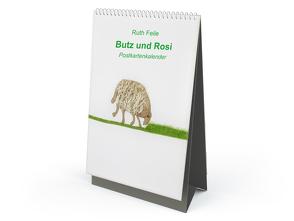 Butz und Rosi Postkarten-Tischkalender von Feile,  Ruth