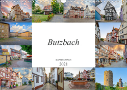 Butzbach Impressionen (Wandkalender 2021 DIN A3 quer) von Meutzner,  Dirk