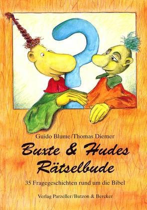 Buxte & Hudes Rätselbude von Blume,  Guido, Diemer,  Thomas