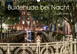 Buxtehude bei Nacht (Wandkalender 2021 DIN A3 quer) von Steen,  Roger