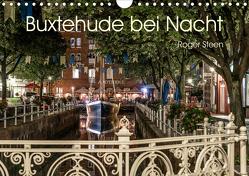 Buxtehude bei Nacht (Wandkalender 2021 DIN A4 quer) von Steen,  Roger
