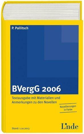 BVergG 2006 von Pallitsch,  Philipp