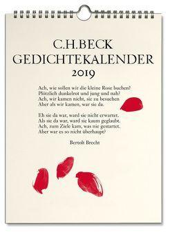 C.H. Beck Gedichtekalender von Campe,  Chris, Petersdorff,  Dirk