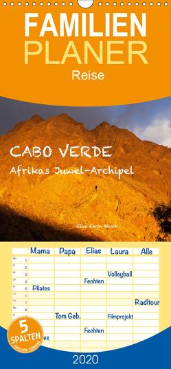 Cabo Verde – Afrikas Juwel-Archipel – Familienplaner hoch (Wandkalender 2020 , 21 cm x 45 cm, hoch) von Elke Karin Bloch,  ©