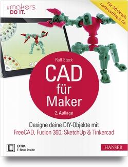 CAD für Maker von Steck,  Ralf